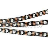 Лента SPI 2-5000-AM 5V RGB (5060,300 LED x1,2812, Black)