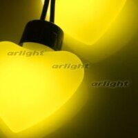 Гирлянда ARL-HEART-5000-20LED Yellow (220V, 5W)